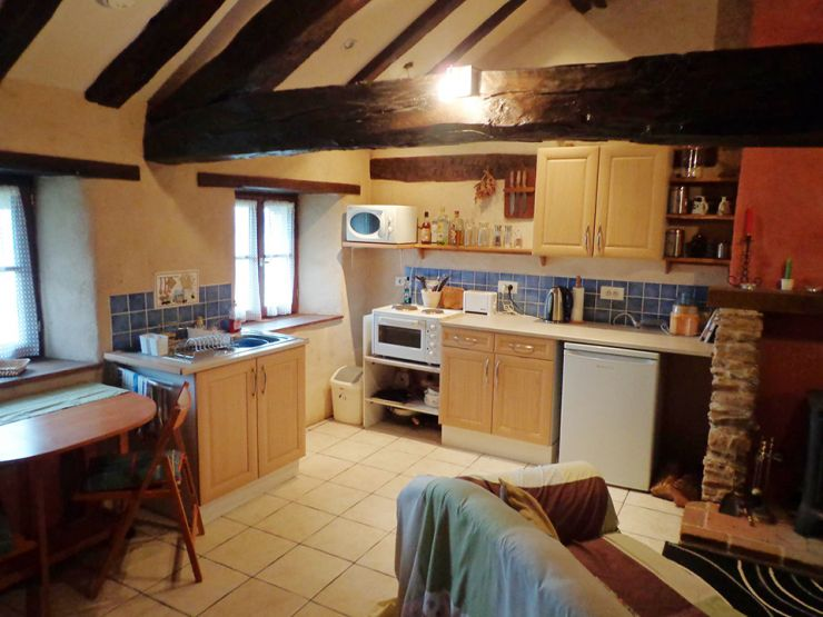 Le Grenier's Kitchen